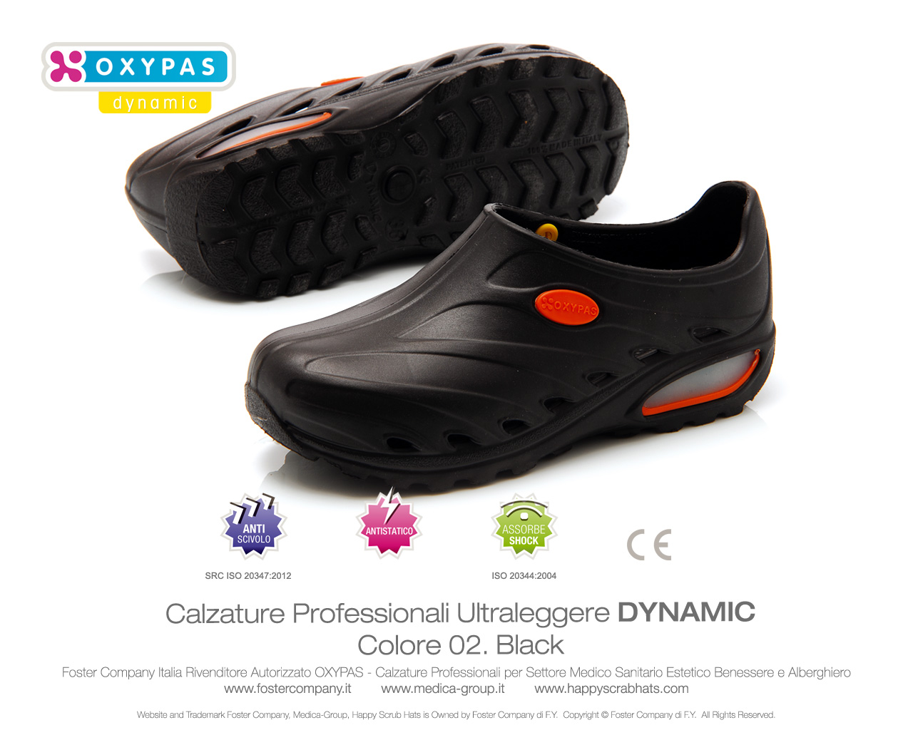 Calzature Professionali OXYPAS Dynamic Donna a4c5333798d